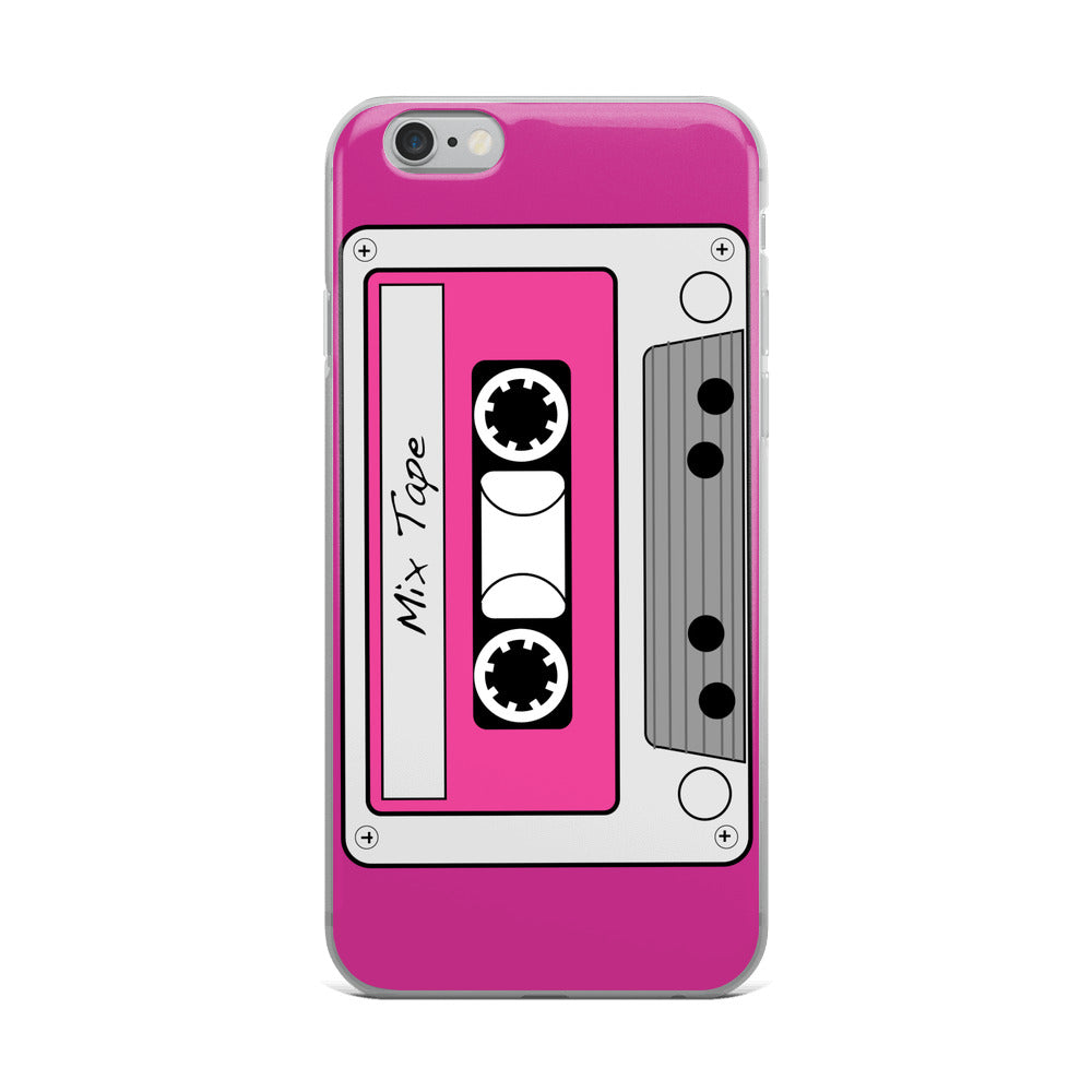 MIX TAPE IPHONE CASE