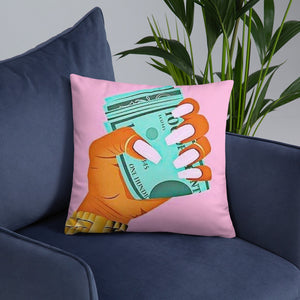 BOSS UP THROW PILLOW