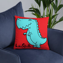 Load image into Gallery viewer, Dino Throw Pillow