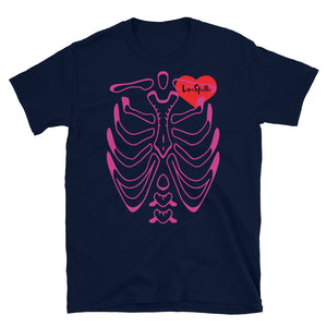 Heartbeat Short-Sleeve Unisex T-Shirt