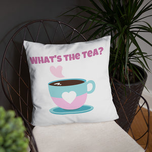 Tea Please Throw Pillow