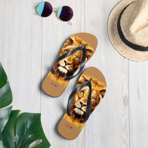 JUNGLE TO JUNGLE FLIP FLOPS