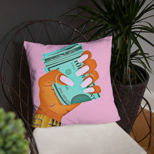 Load image into Gallery viewer, BOSS UP THROW PILLOW