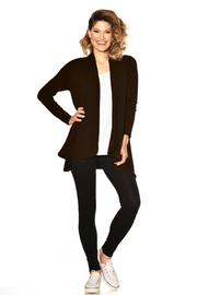 4230 - Easy Fit Panelled Cardigan - Merino