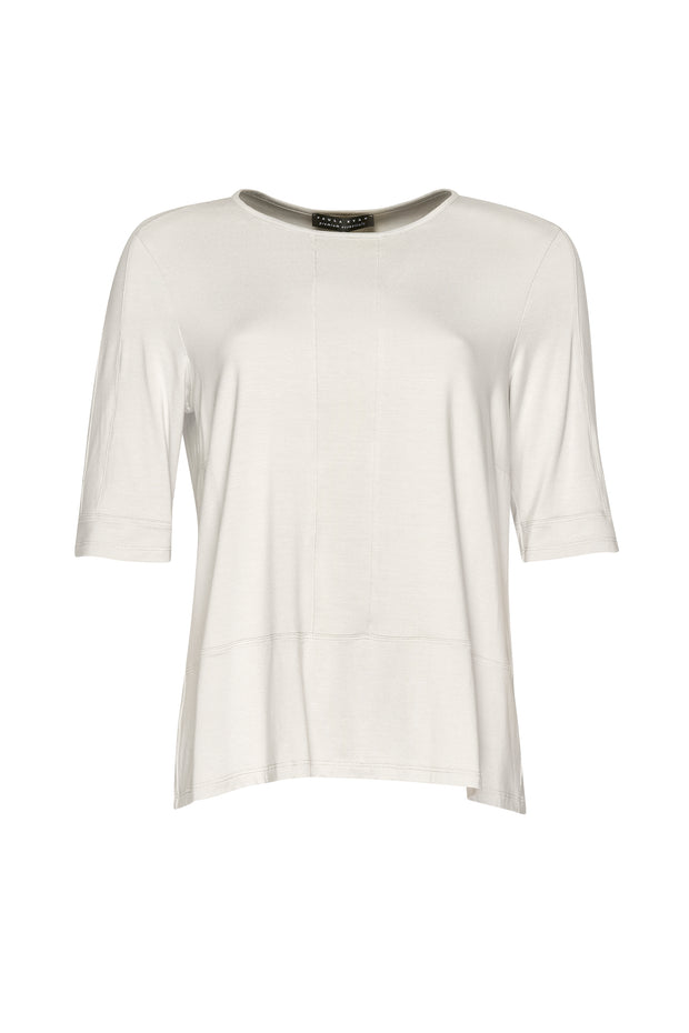 7835S - Panelled Half Sleeve Top