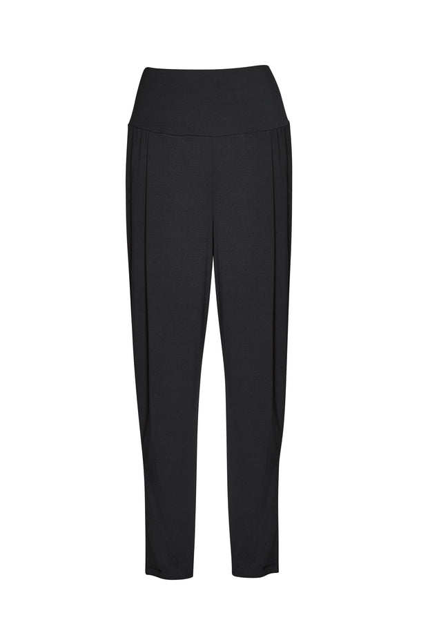 7856 - Ankle Pleat Basque Pant - MicroModal