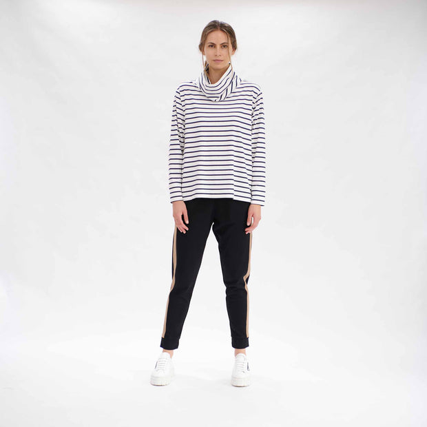 Mela Purdie - Club Sweater Stripe