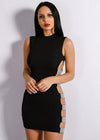 Crystal Studded Bodycon Dress -  THE EASY LOVE SHOPPE
