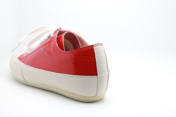 Patent Leather Sneaker (Red)