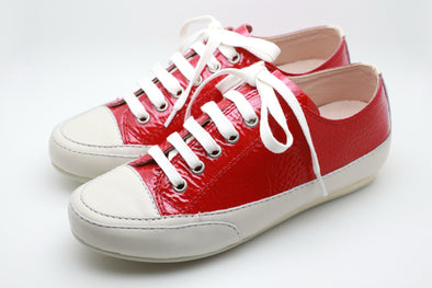 Patent Leather Sneaker (Red) -  THE EASY LOVE SHOPPE