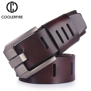 Cowhide leather belts for men -  THE EASY LOVE SHOPPE