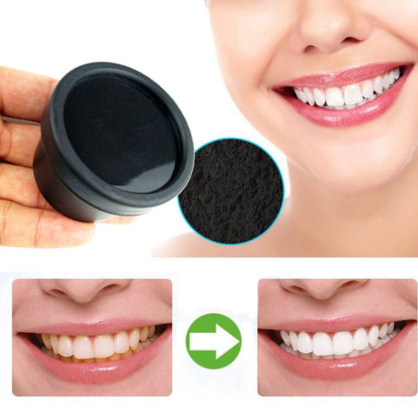 NEW Natural Organic Activated Charcoal Bamboo Toothpaste  Teeth Whitening Powder -  THE EASY LOVE SHOPPE
