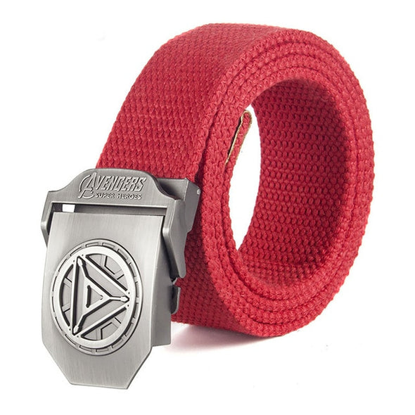 Male Belt Iron Man Buckle High Quality Designer Brand Belt For Men Casual Style Tactical Belt For Jeans 120cm -  THE EASY LOVE SHOPPE