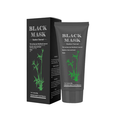 Black Mask Blackhead Remover Black Mask Purifying Peel-off Mask with Activated Bamboo Charcoal -  THE EASY LOVE SHOPPE