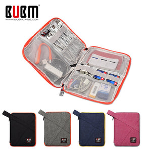 BUBM Travel Universal Cable Organizer Electronics Accessories Cases Gadget Bag For USB, Phone, Charger and Cable, Fit for ipad -  THE EASY LOVE SHOPPE