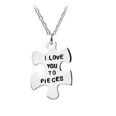 I Love You To Pieces Pendant -  THE EASY LOVE SHOPPE