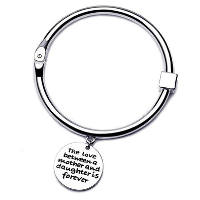 The Love Between Mother and Daughter Bangle -  THE EASY LOVE SHOPPE