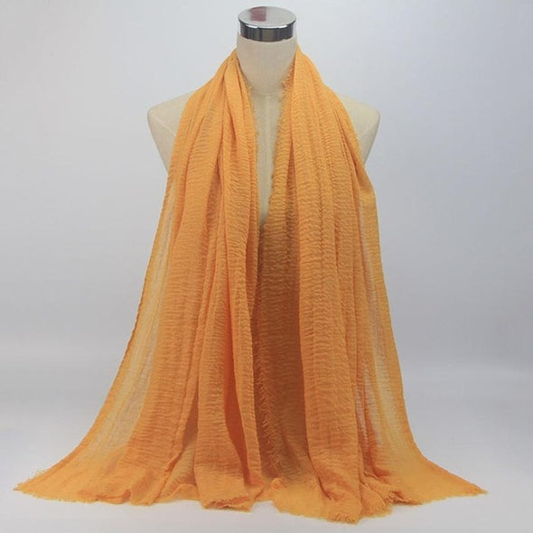 Solid Hijab Scarf For Ladies /High Quality