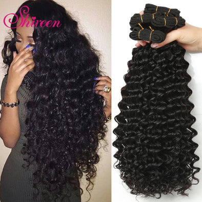 4 Bundles Deal Malaysian Deep Curly Hair/ 100% Remy/ Free Shipping -  THE EASY LOVE SHOPPE
