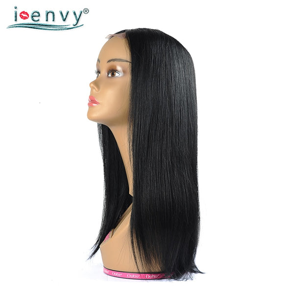 Jet Black Brazilian Straight Hair Wigs -  THE EASY LOVE SHOPPE