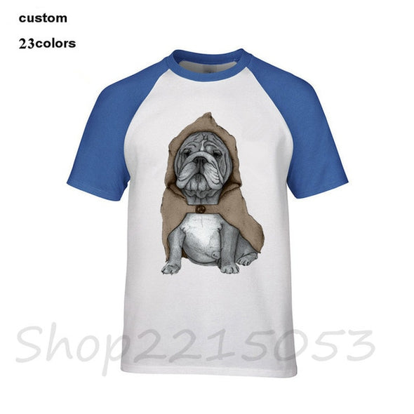 The Jedi Bulldog Novelty Tee Various Styles