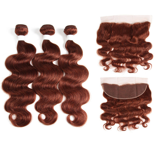 Hair Weave Bundles With Lace Frontal Closure -  THE EASY LOVE SHOPPE