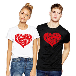 COUPLE T Shirt Plus Size T-shirt Graphic Tees Instagram Tops Make Love Not War Funny Graphic Black White Tshirt  Xs-3xl 2018 -  THE EASY LOVE SHOPPE