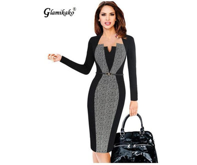 Ladies Pencil Dress -  THE EASY LOVE SHOPPE