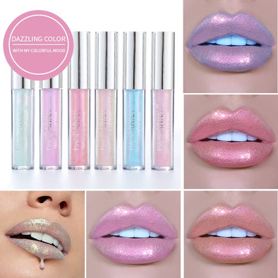 Dazzling Color Metallic Lip Gloss -  THE EASY LOVE SHOPPE