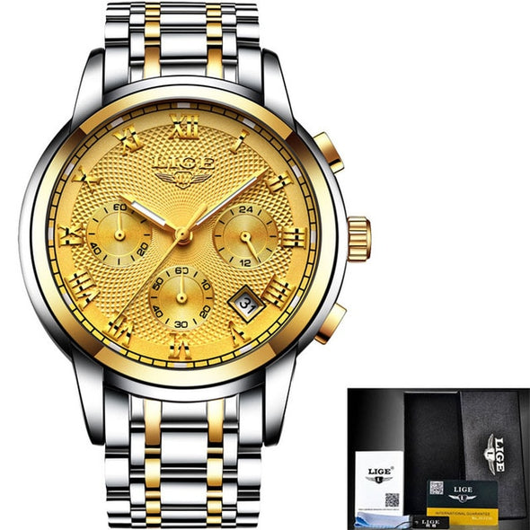 Luxury Chronograph Quartz Watch -  THE EASY LOVE SHOPPE