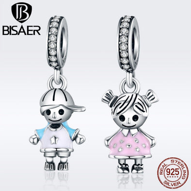 BISAER 100% 925 Sterling Silver Charm Collection -  THE EASY LOVE SHOPPE
