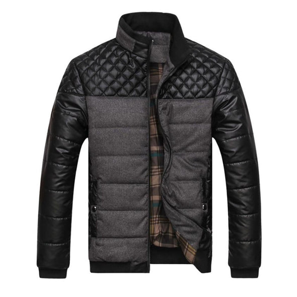 2018 Designer Patchwork Jacket for Men -  THE EASY LOVE SHOPPE