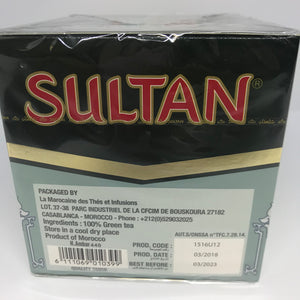 Sultan Grain Ambar Pearl Green Tea 440 Gram (15.5 oz) Product of Morocco