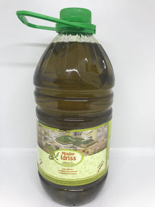 Moulay Idriss 100% Virgin Olive Oil ( Lege Olifolfolie) 2 Liter  (68 oz)