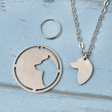 Load image into Gallery viewer, 2 pcs stainless steel necklace & dog tag that matches [Choose yours NOW]