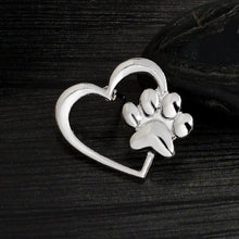 Load image into Gallery viewer, My Dog in my Heart, Brooch Pin Badge