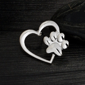My Dog in my Heart, Brooch Pin Badge