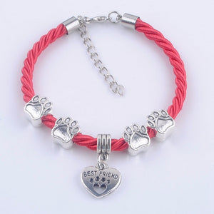 Hand-Woven Rope Bracelet - dog paw chain [HOT SALE]