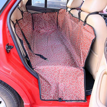 Load image into Gallery viewer, Dog carrier of Oxford Fabric, Paw pattern Seat Cover, Waterproof, Cushion Protector