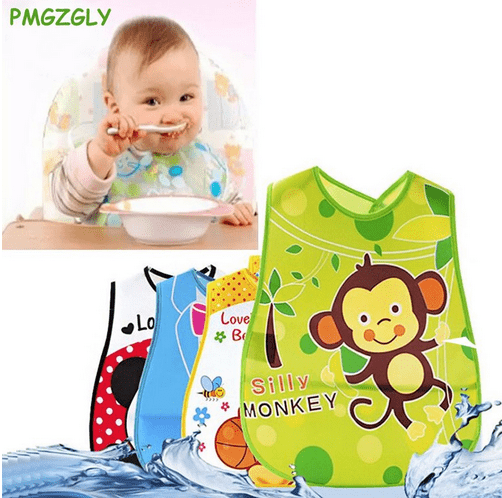 Baby Bibs Infants Burp Clothes Feeding Care - BabyShop-Maroc