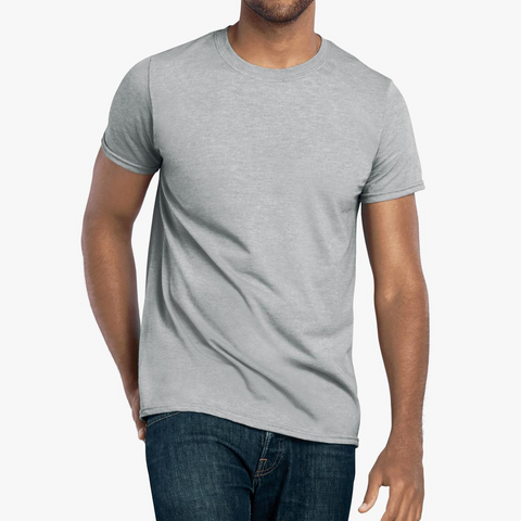 Mens Fitted Workout T Shirt