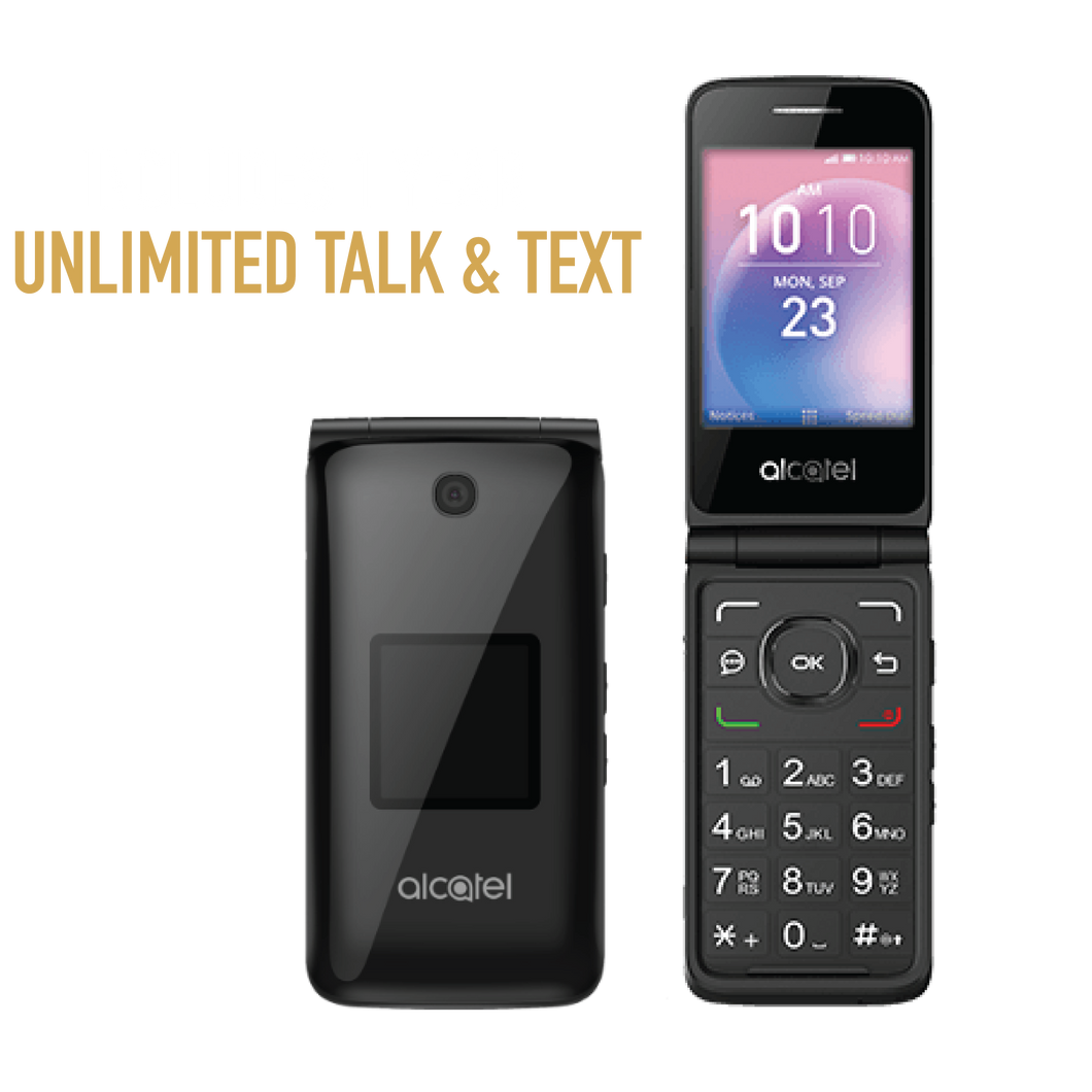 Alcatel GO FLIP with 1 Year Unlimited Talk & Text