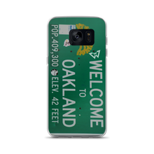 "Load image into Gallery viewer, BEASTMODE ""Welcome to Oakland"" Samsung Case"