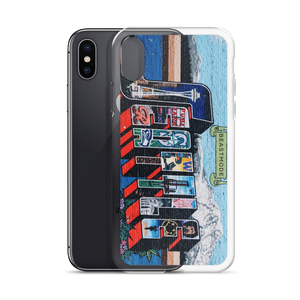 "BEASTMODE ""Seattle Mural"" iPhone Case"