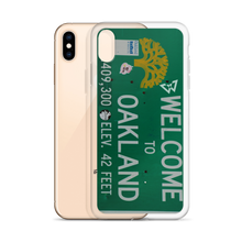 "Load image into Gallery viewer, BEASTMODE ""Welcome to Oakland"" iPhone Case"