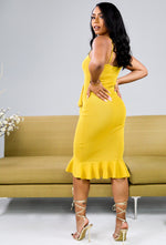 Bianca Dress (Yellow) FINAL SALE