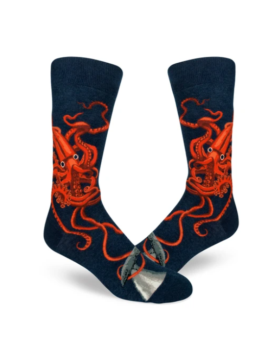 Squid and Whale Men's Crew Socks
