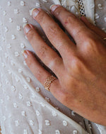 Rose Gold Wrap Around Ring