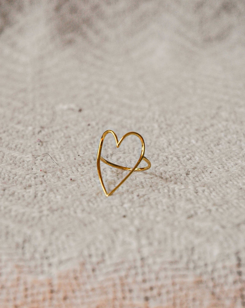 Simple Heart Ring ~Best Seller~