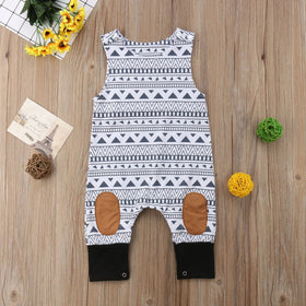 Southwestern Sleeveless Bodysuit